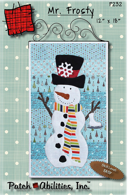 Mr. Frosty Pattern