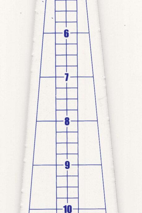 10 degree Mini Wedge Ruler