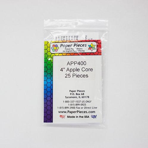 """4"""" Apple Cores. 25 pcs"""