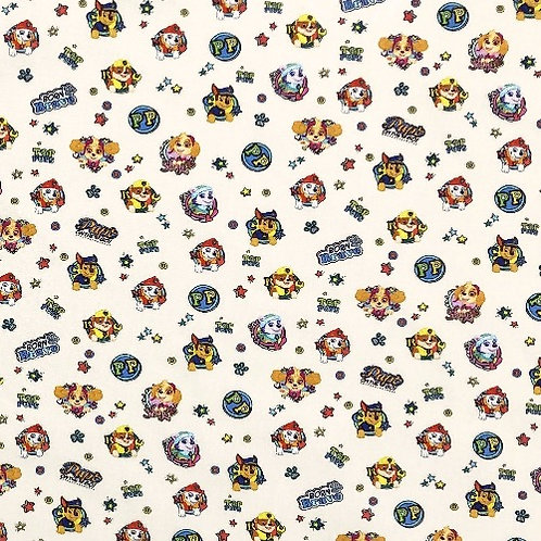 Paw Patrol Characters Fabric