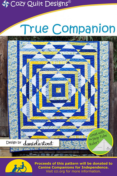 Cozy Quilt Designs True Companion Quilt Pattern