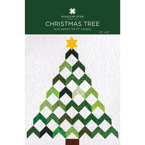 Missouri Star Christmas Tree Quilt Pattern