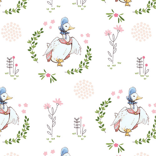 Peter Rabbit Jemima Puddleduck Fabric