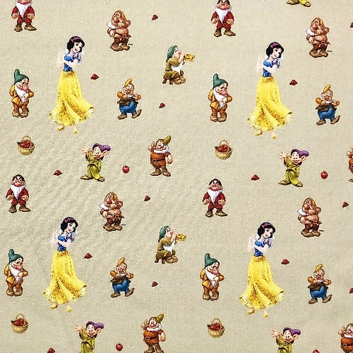 Disney Snow White and the Seven Dwarfs Fabric