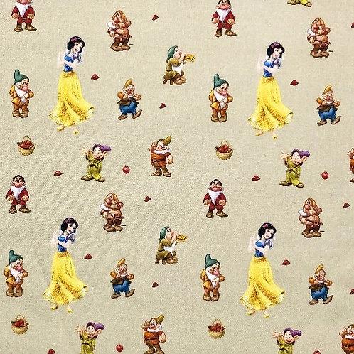 LP Disney Snow White and the Seven Dwarfs Fabric