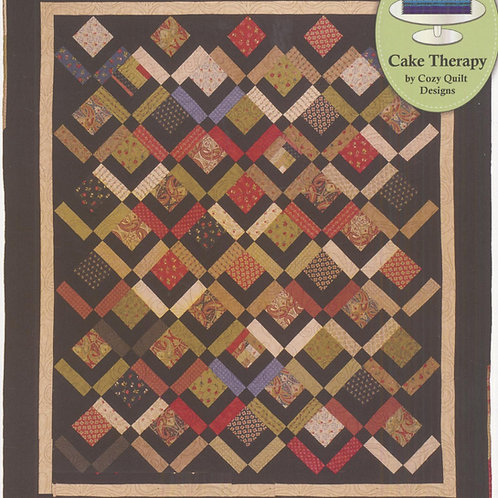 Cozy Quilt Designs Three Layer Cake Quilt Pattern