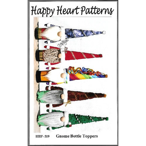 Gnome Bottle Toppers Pattern