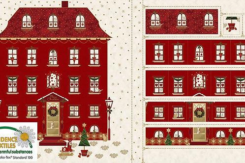 Magic Christmas Advent Panel - Red