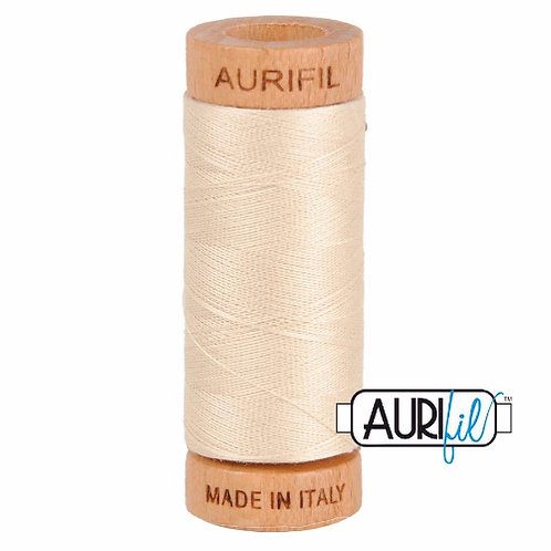 Aurifil 80 280m 2310 Light Beige Cotton Thread
