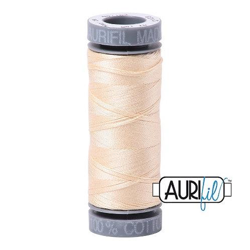 Aurifil 28 100m 2123 Butter Cotton Thread