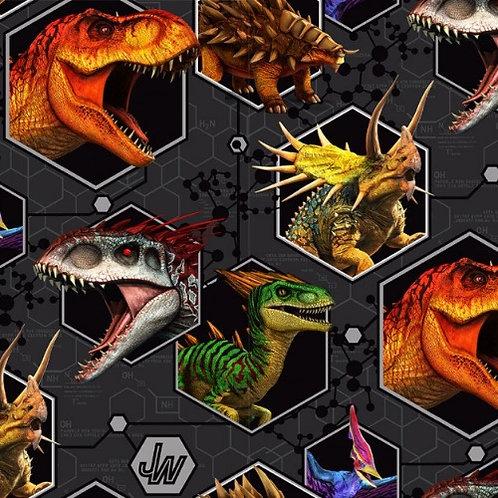 Jurassic Park Jersey Fabric