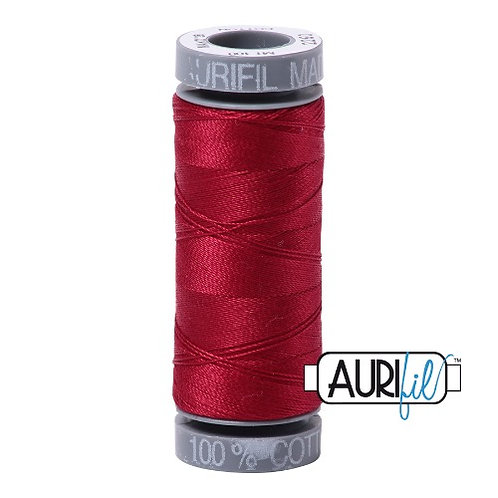 Aurifil 28 100m 2260 Red Wine Cotton Thread