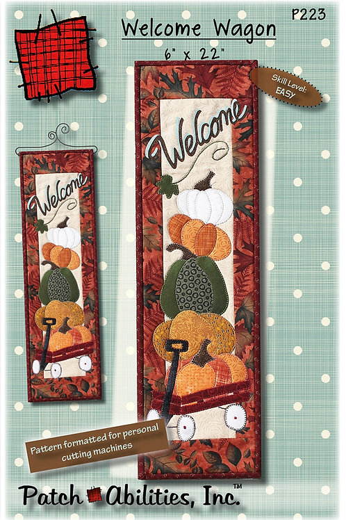 Autumn Welcome Wagon Pattern