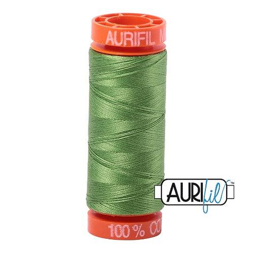 Aurifil 50 200m 1114 Cotton Thread Grass Green