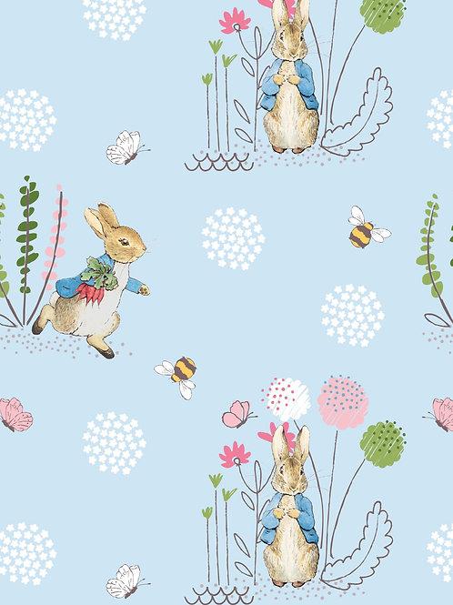 Peter Rabbit Blue Fabric