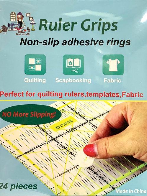 Adhesive Ruler Grips