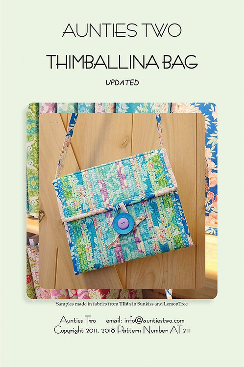 Aunties Two Thimballina Bag Pattern