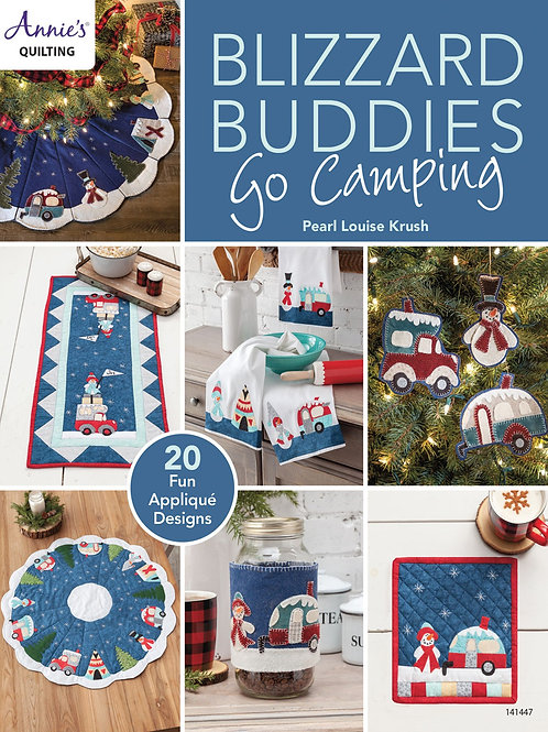 Blizzard Buddies Go Camping Pattern Book