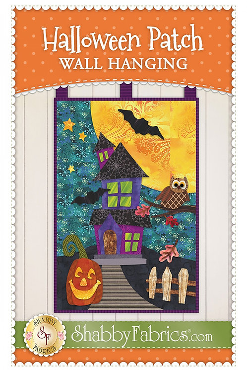 Halloween Patch Wall Hanging Pattern