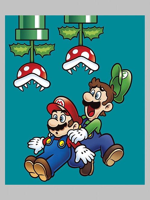 Mario Bros Jump Panel