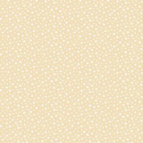Makower Star Full Cream Fabric 306/Q6