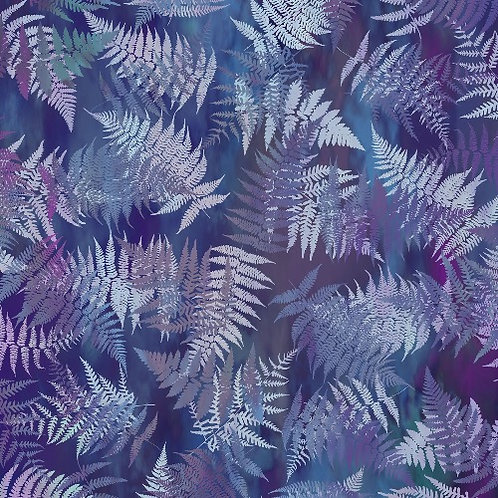 Garden of Dreams Fabric - Deep Purple