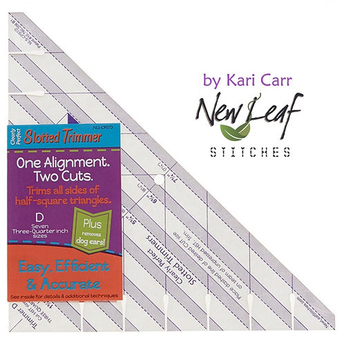Clearly Perfect Slotted Trimmer D By Kari Carr.