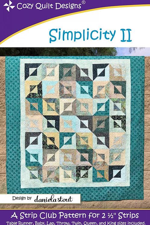 Cozy Quilt Designs Simplicity II Quilt Pattern