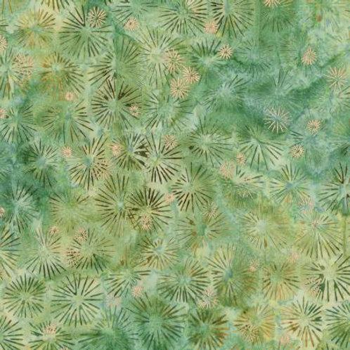 Forest Northwoods Batik With Metallic