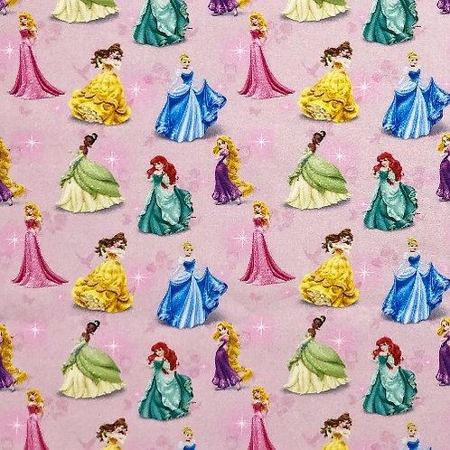 Disney Shiny Princess Fabric