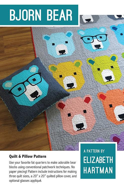 Bjorn Bear Quilt Pattern