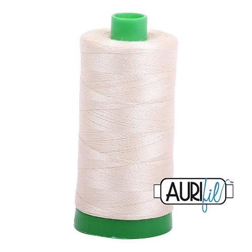 Aurifil 40 1000m 2310 Light Beige Cotton Thread