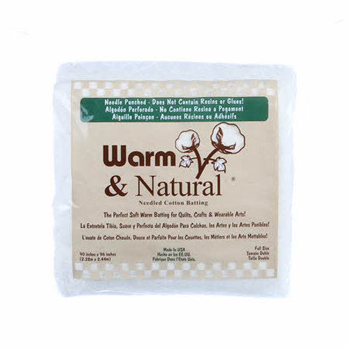 Warm and Natural Full Size - Cotton