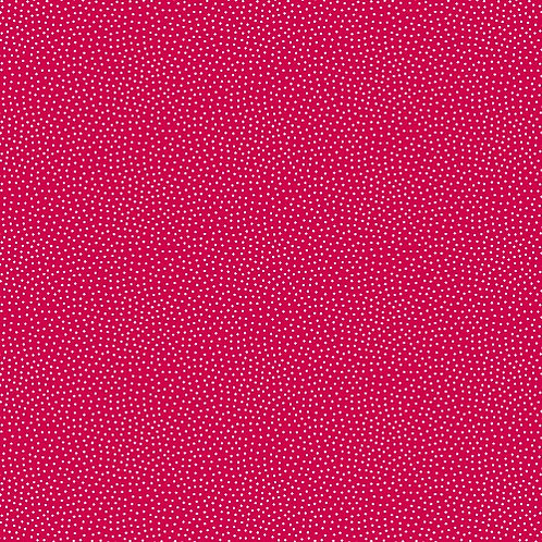Makower Freckle Dot Red and White Fabric 9436/R
