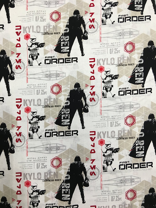 Star Wars First Order Terms Fabric