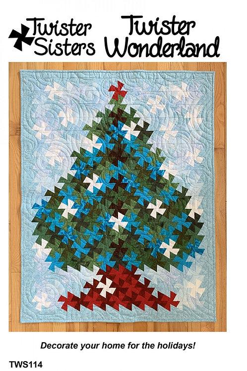 Twister Wonderland Quilt Pattern