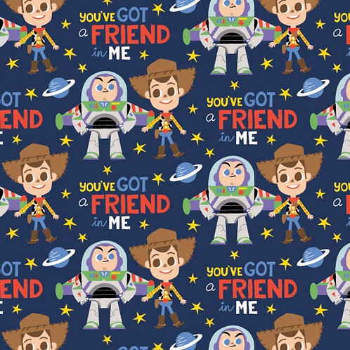Disney Toy Story Friend In Me Fabric