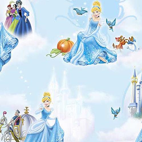 Cinderella at the ball Fabric