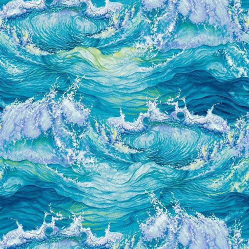 Crashing Waves Fabric