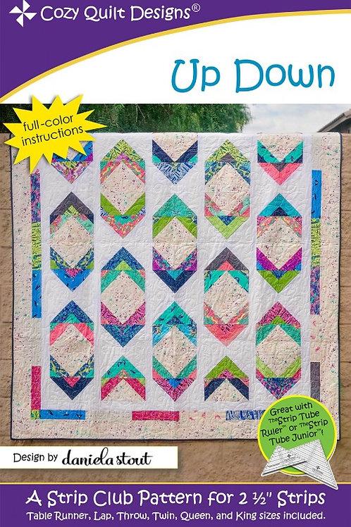 Cozy Quilt Designs Up Down Quilt Pattern