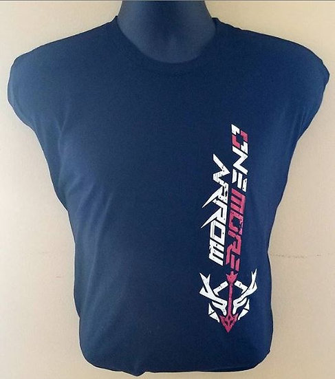 OneMoreArrow Adult Black T-Shirt