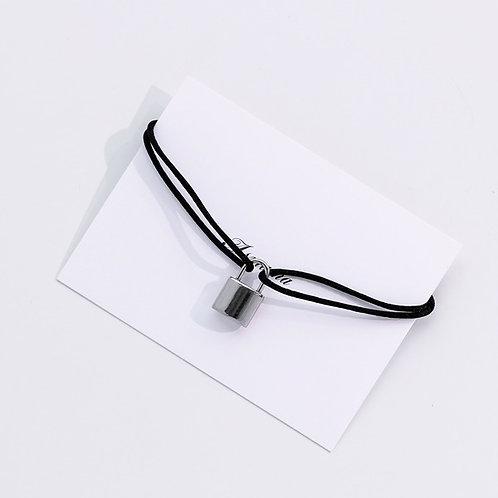 Asmama Lock Bracelet worn by BTS V & Wooga Squad