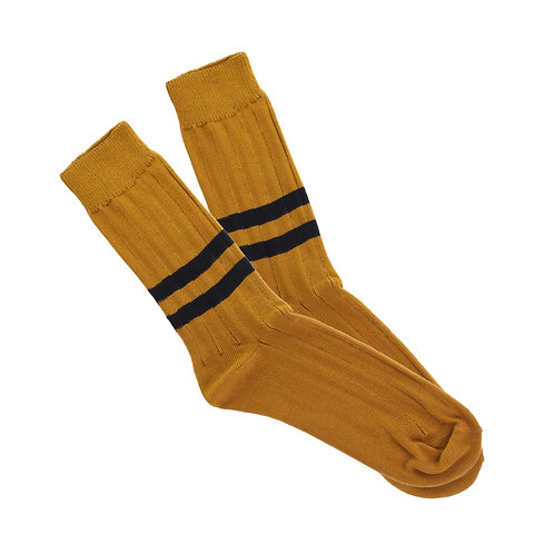Mustard - Double Black Stripe