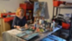 Sandrine Etienne artiste peintre plasticienne bordeaux internationnal