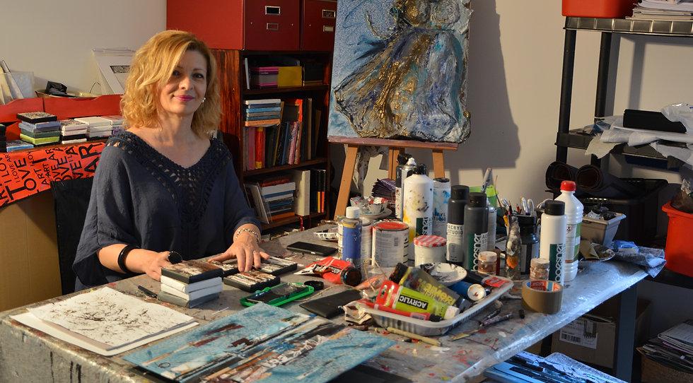Sandrine Etienne Artiste Peintre