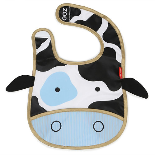 BABERO ZOO VACA , ZOOBIBS COW, SKIP*HOP