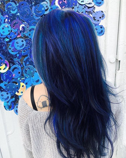 Beautiful Blues💙 #mermaidhair  #sexyhai