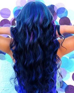 Pantone Blue💙 #mermaidhair  #sexyhair #