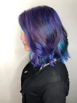 galaxy cosmic hair
