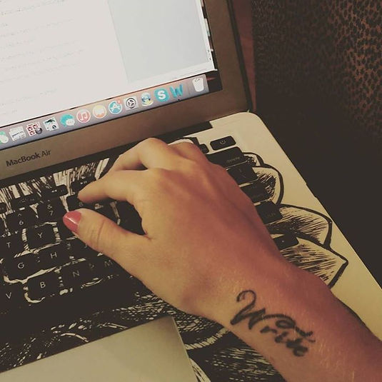 writer tattoo